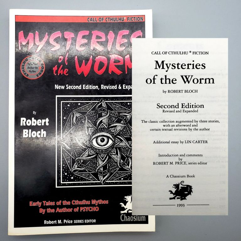 Mysteries of the Worm. Robert Bloch.