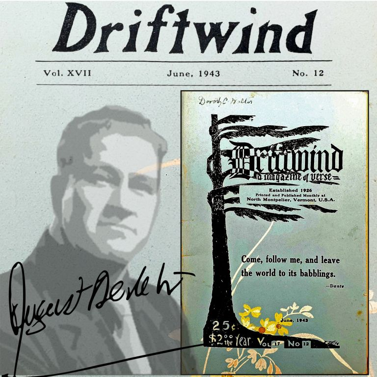 Driftwind [June 1943]. August Derleth, Contributor.