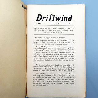 Driftwind [June 1943]