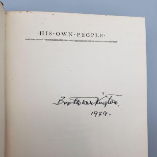 His Own People [Inscribed}