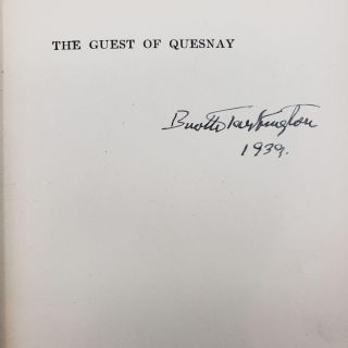 The Guest of Quesnay [Inscribed}